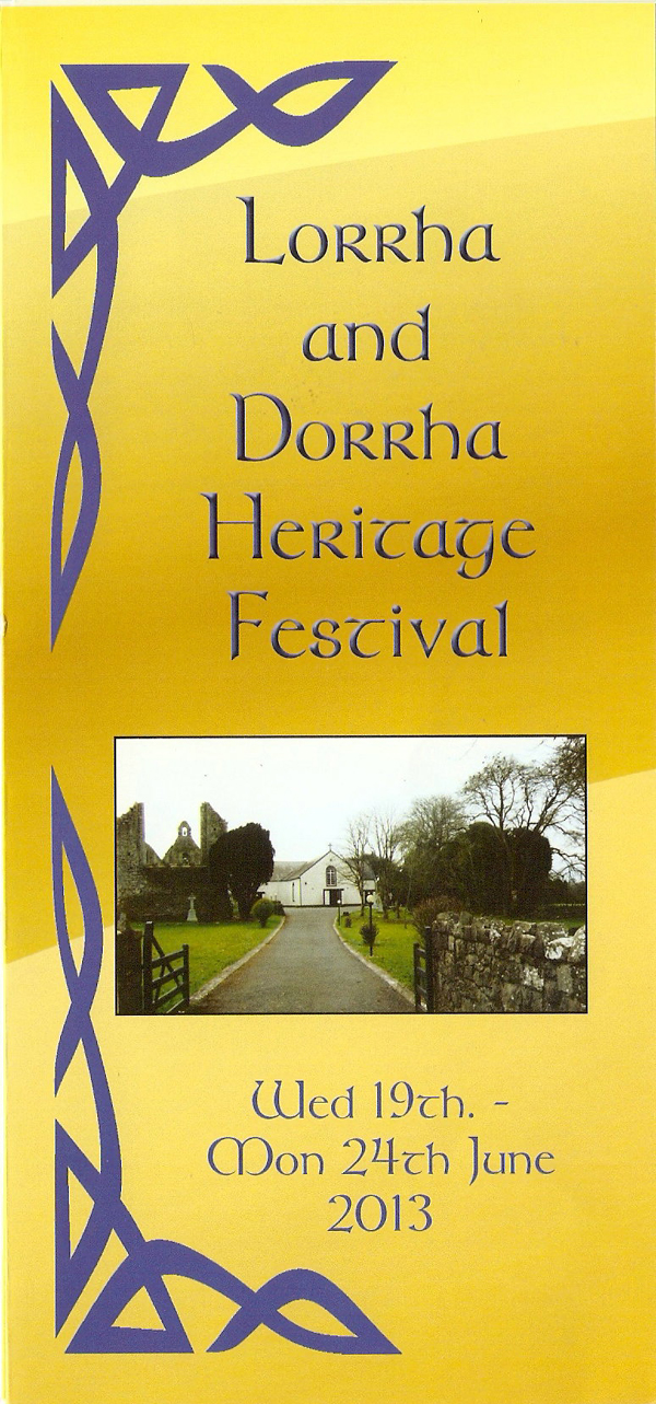 Pick Up the Heritage Programmes in Shops, Post Offices and Tourist Information Offices.